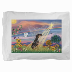 Cloud Angel - Dobie (B) Pillow Sham